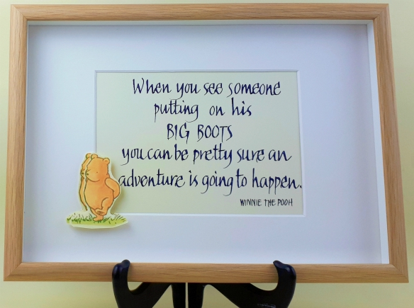 Big boot gift quote