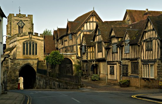 photograph of Lord Leycester Hospital Warwick